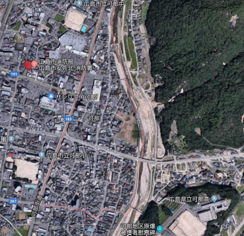 画像 : 広島市安佐北区の水路。 : まとめダネ!